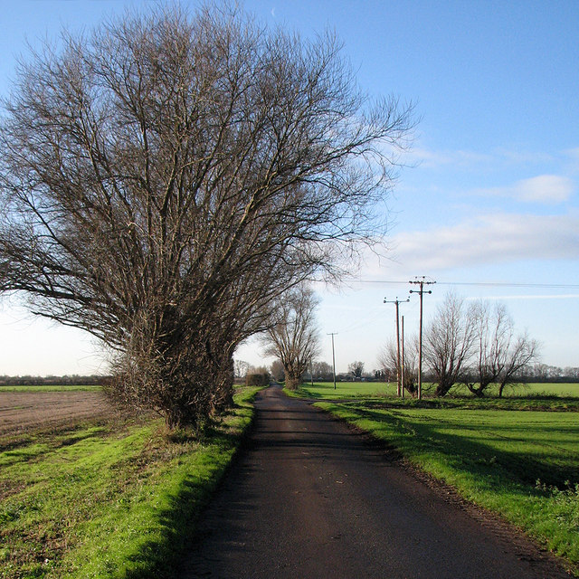 The road to Lythel's Farm