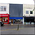 ST3187 : Elvis at the entrance to a tattoo parlour in Newport by Jaggery