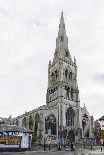 Tower of St Mary Magdalene church, Newark
