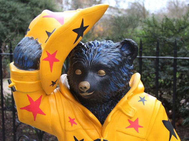 """Stripes"", Paddington Bear, Cadogan Place"