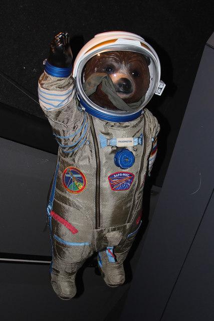 """Gravity Bear"", Paddington Bear, Royal Observatory"