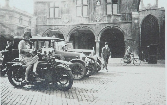 Market Place, Peterborough in 1929