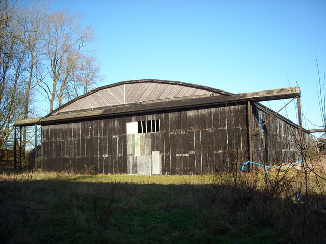 Hangar, former RAF Yatesbury air base