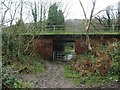 TQ7662 : Bridge carrying Beechen Bank Road over Cossington Road, Walderslade by Chris Whippet