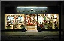 TQ2879 : Souvenir shop, Buckingham Palace Road by Jim Osley