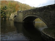NY4724 : Bridge over the River Eamont, Pooley Bridge by Graham Robson