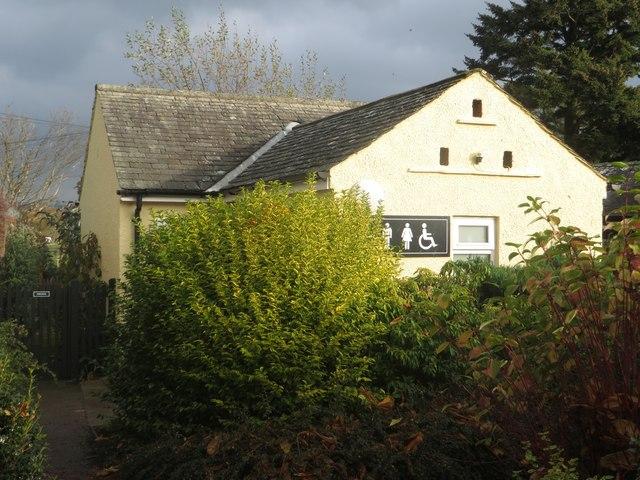 Public toilets, Pooley Bridge