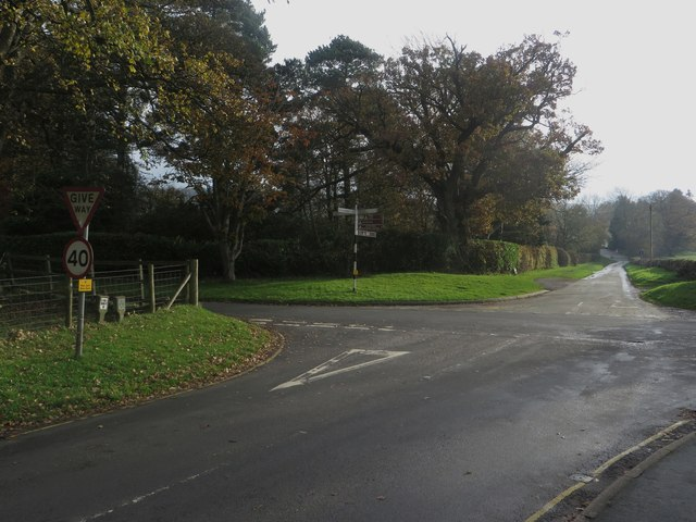 Crossroads east of Pooley Bridge