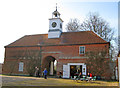TF4666 : The Stableyard at Gunby Hall by Trevor Rickard