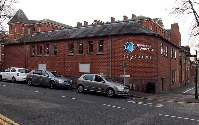 University of Worcester City Campus building