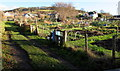 SO2118 : Crickhowell allotments by Jaggery
