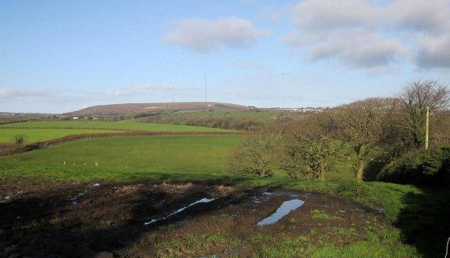 Towards Caradon Hill