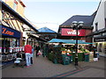 SO2914 : Fruit & veg stall in Cibi Walk Abergavenny by Jaggery
