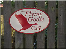 TM3869 : Flying Goose Cafe sign by Adrian Cable
