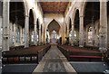TF3244 : Interior, St Botolph's church, Boston by Julian P Guffogg
