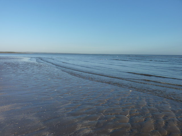 Ripples over rippled sand
