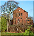SK6556 : Pumping Station, Brickyard Lane, Farnsfield, Notts. by David Hallam-Jones