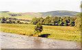 NT3336 : River Tweed at Innerleithen, 1988 by Ben Brooksbank