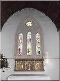 TM3669 : Stained Glass Window of St.Peter's Church by Geographer