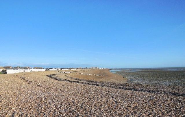 Beach near Sea Lane Café, Goring