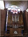 TQ3374 : St Barnabas, Dulwich: organ by Stephen Craven