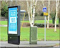 J3371 : Telephone box, Stranmillis, Belfast (December 2014) by Albert Bridge