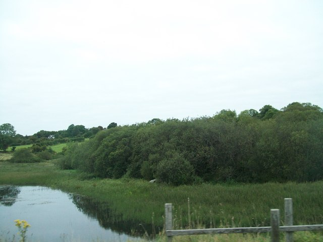 Cut off northern portion of Camlough Lake