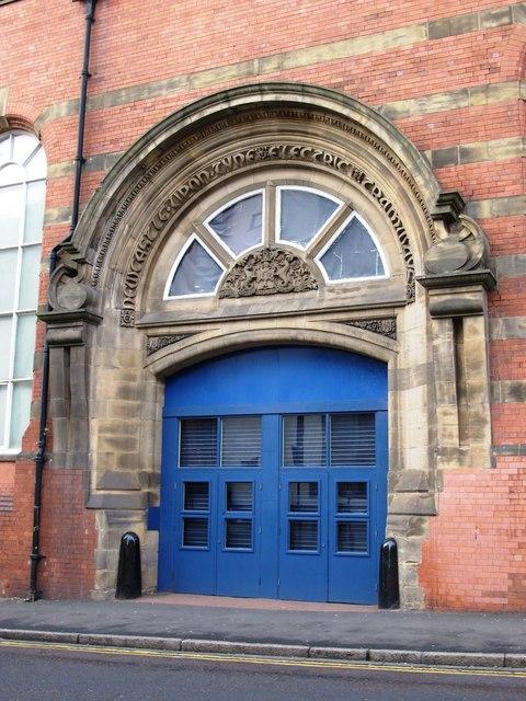 CastleGate, Melbourne Street, NE1 - former entrance