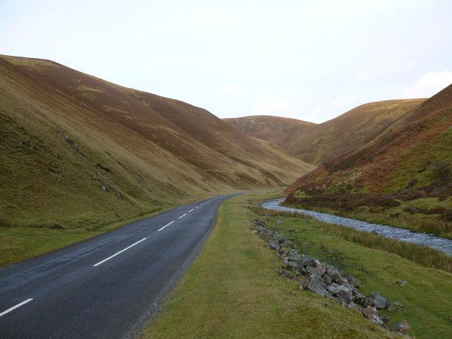 B797 in Mennock Pass