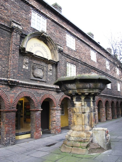 (The former) Holy Jesus Hospital, City Road, NE1 - entrance and pant