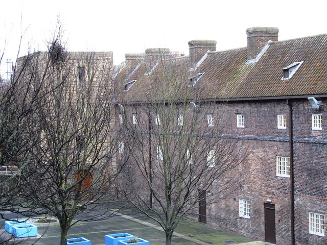 (The former) Holy Jesus Hospital, City Road, NE1 - rear courtyard and tower