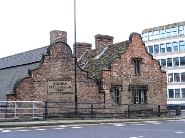 (The former) Holy Jesus Hospital, City Road, NE1 - west end