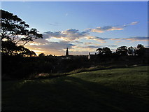 NU0052 : Berwick upon Tweed - Evening light from near King's Mount by Colin Park