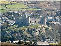SH5831 : Harlech Castle by Matthew Chadwick