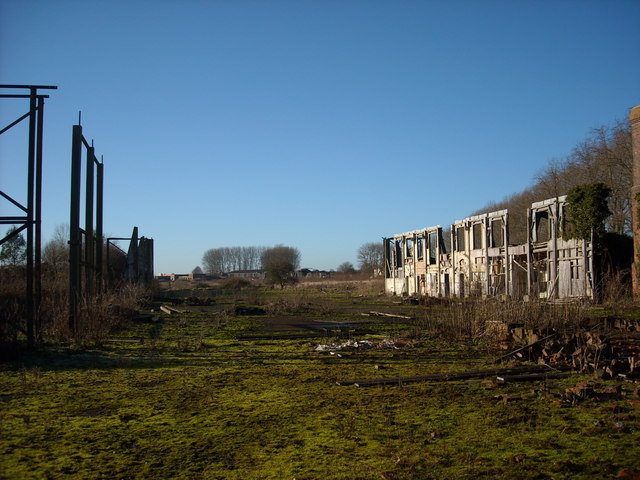 Hangar at north east corner of former RAF Yatesbury air base