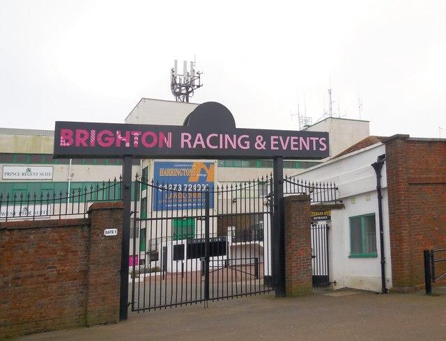 Gates to Brighton Racecourse