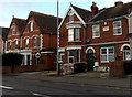 ST3147 : Late Victorian houses in Huntspill Road, Highbridge by Jaggery