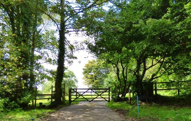 Entrance to Brookside, Fulking