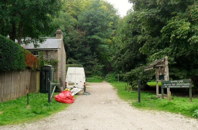 Public footpath, Westdean