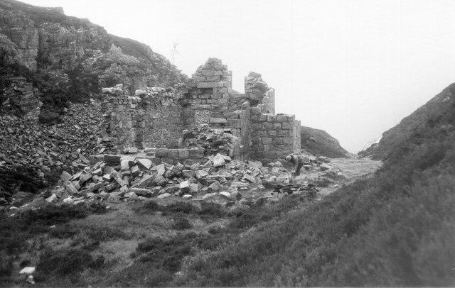 Ruins of Slugain Lodge, 1978