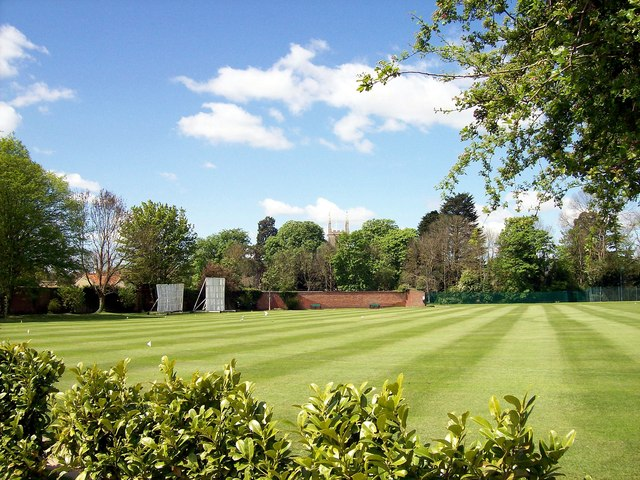 The Abbey Lawn at Bourne, Lincolnshire