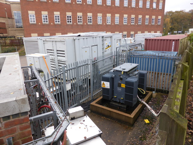 Portable generators - Worcestershire Royal Hospital