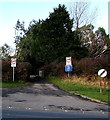 SS8879 : Weight restriction on a minor road in Laleston by Jaggery