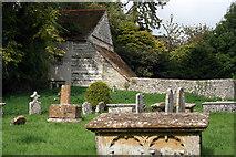 ST6601 : Graveyard, Cerne Abbey, Abbey Street, Cerne Abbas by Jo Turner