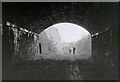 NT4936 : Ladhope Tunnel, Galashiels by Walter Baxter