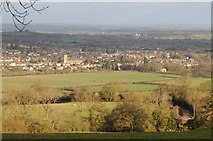 SP0228 : Winchcombe viewed from the south by Philip Halling