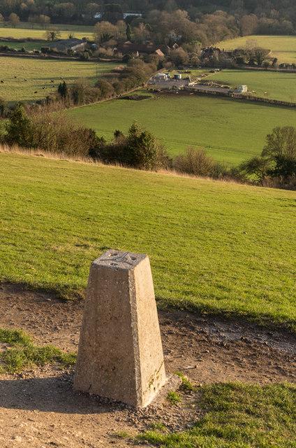 Box Hill trig point