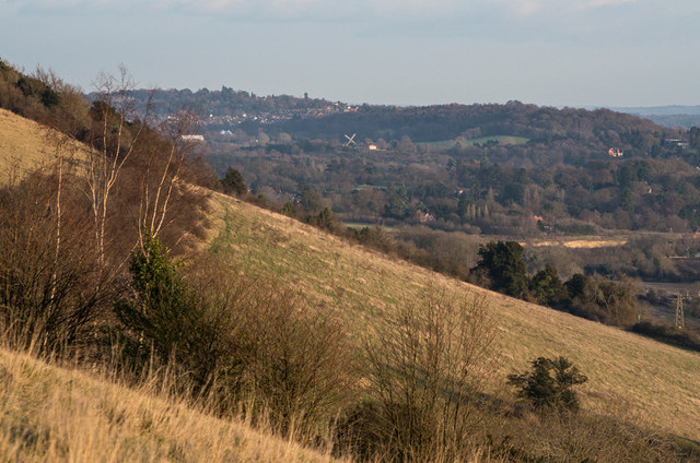 East from Box Hill