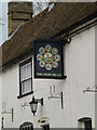 TL2256 : The Eight Bells Public House sign by Adrian Cable