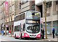 J3373 : Boxing Day bus, Belfast (2014) by Albert Bridge